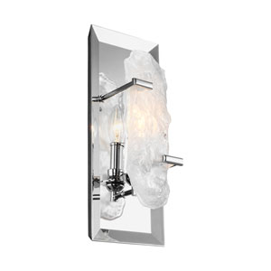Katerina Chrome One-Light Wall Bath Fixture
