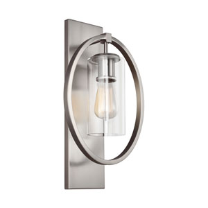Marlena Chrome One-Light Wall Bath Fixture