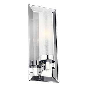 Pippin Chrome One-Light Wall Sconce