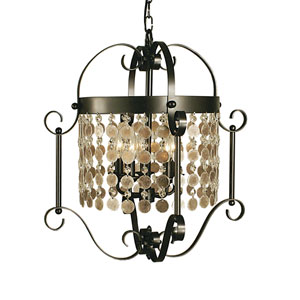 Naomi Mahogany Bronze 20-Inch Five-Light Pendant