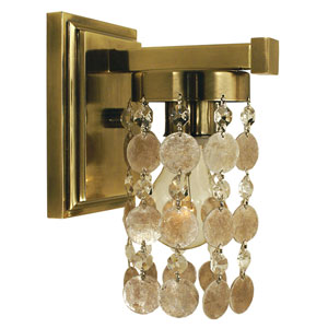 Naomi French Brass 5-Inch One-Light Bath Vanity