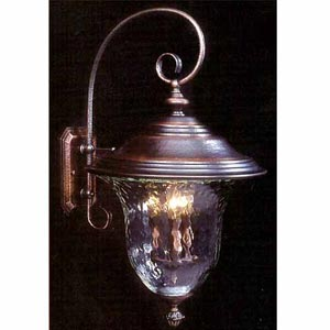 Carcassonne Siena Bronze Medium-Large Outdoor Wall Light