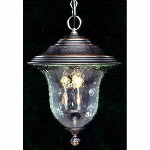 Carcassonne Siena Bronze Medium-Large Outdoor Pendant
