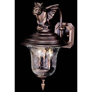 Carcassonne Siena Bronze Medium Outdoor Wall Mount Lantern