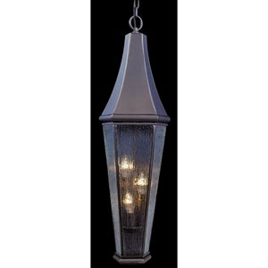Le Havre Medium Iron Outdoor Hanging Lantern