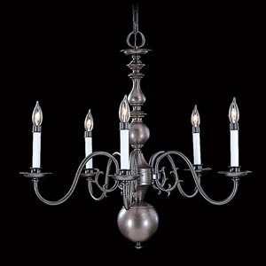 Jamestown Five-Light Chandelier
