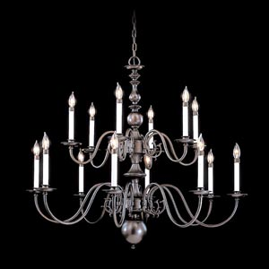 Jamestown Two-Tier Chandelier