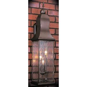 Marquis Mahogany Bronze Medium Outdoor Wall-Mounted Lantern
