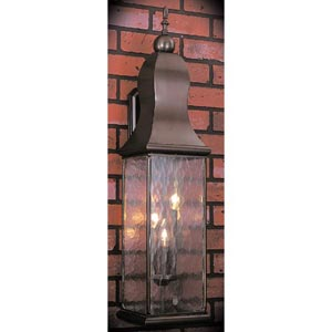 Marquis Mahogany Bronze Large Outdoor-Wall Mounted Lantern