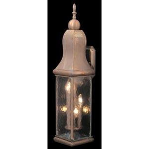 Marquis Raw Copper Large Outdoor Wall-Mounted Lantern