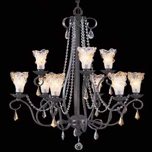 Rhapsody Nine-Light Chandelier