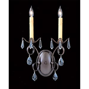 Liebestraum Two-Light Sconce
