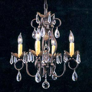 Liebestraum Four-Light Chandelier
