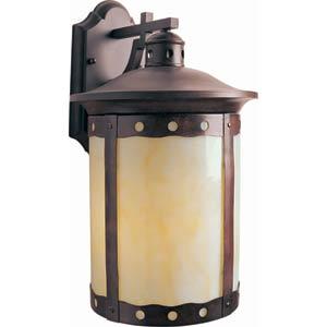 Series 485 Fluorescent Rustic Sienna One-Light Outdoor Wall Light