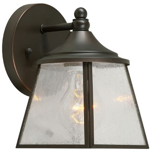 Royal Bronze One-Light 5-Inch Wide Outdoor Wall Sconce