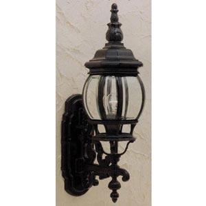 Cast Black Scrolled Outdoor Lantern