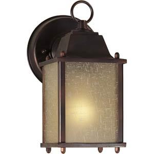 Series 29 Antique Bronze One-Light Outdoor Wall Light