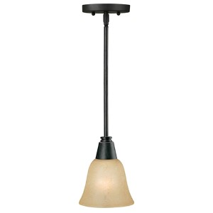 Bordeaux One-Light 6-Inch Wide Mini-Pendant