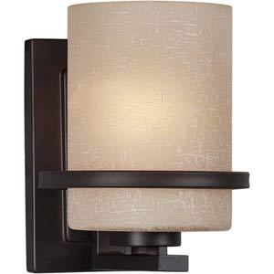 Series 473 Antique Bronze One-Light Sconce