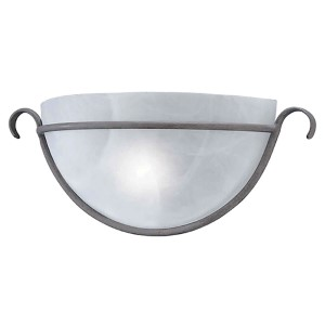 Desert Stone One-Light 14-Inch Wide Wall Sconce