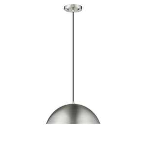 Walker Aged Steel Two-Light Pendant