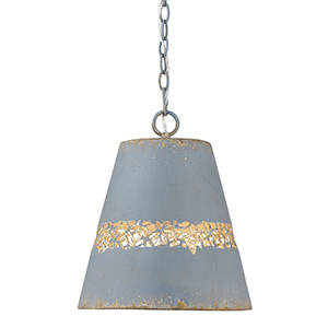 Isabel Colonial Blue One-Light Pendant