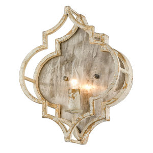 Ravina Antique Ivory 11-Inch One-Light Wall Sconce