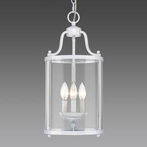 Payton White Three-Light Mini Pendant