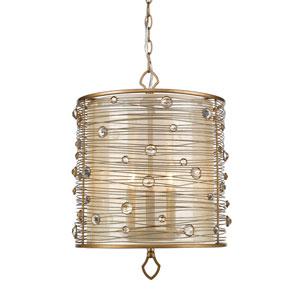Joia Peruvian Gold Three-Light Pendant