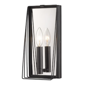 Gia Natural Black One-Light Wall Scone