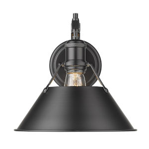 Orwell Matte Black 10-Inch One-Light Wall Sconce