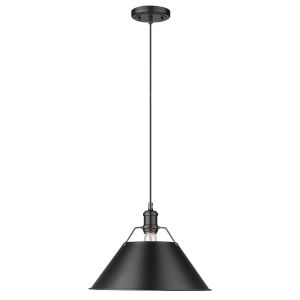 Orwell Matte Black 14-Inch One-Light Pendant