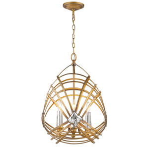 Signet Royal Gold Four-Light Pendant