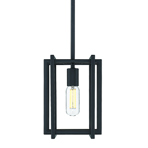 Tribeca Black Seven-Inch One-Light Mini Pendant