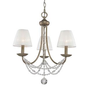 Mirabella Golden Aura Three-Light Chandelier