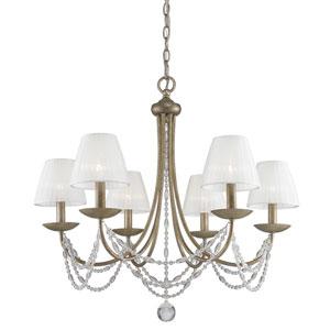 Mirabella Golden Aura Six-Light Chandelier