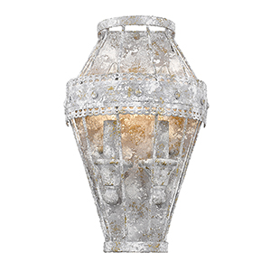 Ferris Oyster Two-Light Wall Sconce