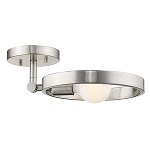 Sloane Pewter Nine-Inch One-Light Wall Sconce