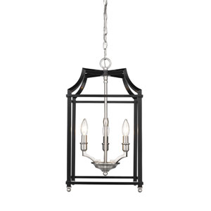Leighton Pewter Three-Light Pendant