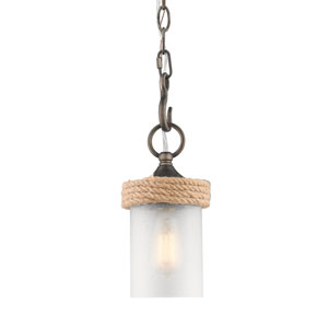 Chatham Gunmetal Bronze One-Light Mini Pendant