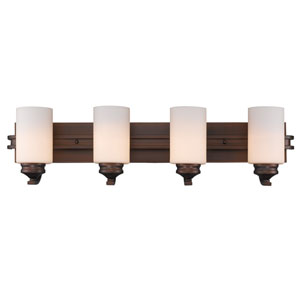 Hidalgo Sovereign Bronze Four-Light Vanity
