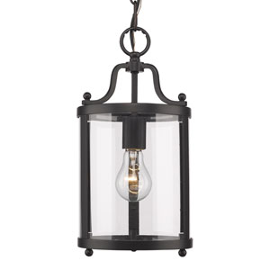 Payton Black One-Light Mini Pendant