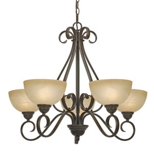Riverton Five-Light Chandelier