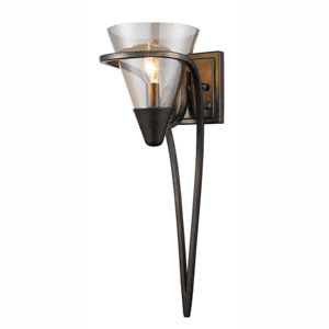 Olympia Burnt Sienna One Light Wall Sconce
