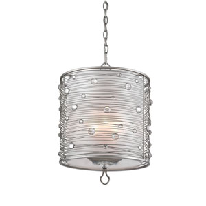 Joia Peruvian Silver Three-Light Pendant
