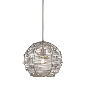 Joia Peruvian Silver One-Light Pendant