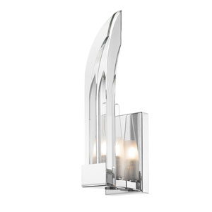 Nan Chrome One-Light Wall Sconce