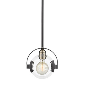 Amari Black One-Light Mini Pendant
