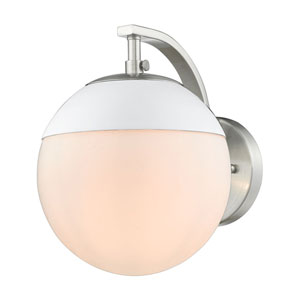 Dixon Pewter One-Light Bath Sconce