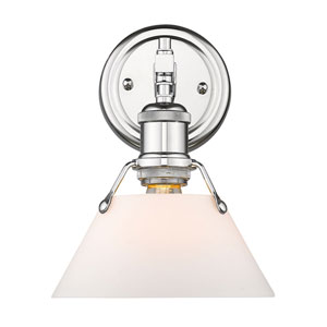 Orwell Chrome One-Light Bath Sconce